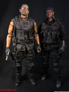 bad boys 2 will smith & martin lawrence custom action figures 12 inch 1:6…