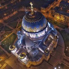 Naval cathedral in Kronstadt Photographer: Yury Matveev