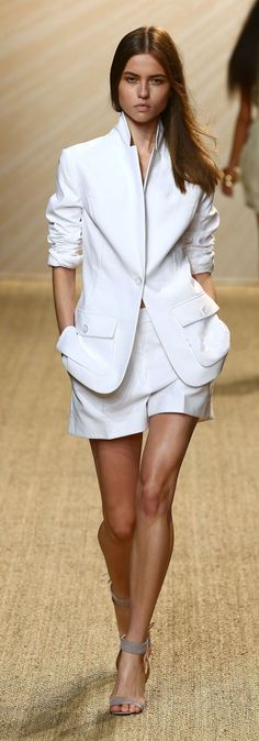 Pascal Millet - Spring Summer 2013 Ready-to-Wear...ahhh white baggy shorts suit