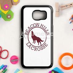 Beacon Hills Lacrosse White Samsung Galaxy S6 Edge Plus Case | armeyla.com