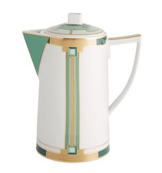 Style: Contemporary Part Type: Coffee Pot Product type: Porcelain Height: 175 mm Width: 107 mm Length: 166 mm Capacity: Weight without Package: 605 gr Use restrictions: Not suitable for microwaves. Fo