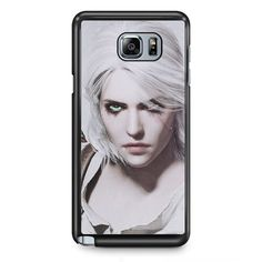 Ciri The Witcher TATUM-2640 Samsung Phonecase Cover Samsung Galaxy Note 2 Note 3 Note 4 Note 5 Note Edge