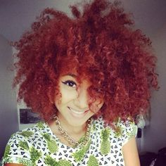 Girls with red curly hair.  | #lovepko