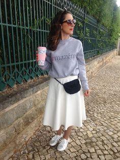 Que tal a sweater do blog? Não é linda?