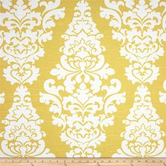 Premier Prints Berlin Slub Saffron Yellow from @fabricdotcom Screen printed on cotton slub duck (slub cloth has a linen appearance); this versatile medium weight fabric is perfect for window accents (draperies, valances, curtains and swags), accent pillows, duvet covers, upholstery and other home decor accents. Create handbags, tote bags, aprons and more. *Use cold water and mild detergent (Woolite). Drying is NOT recommended - Air Dry Only - Do not Dry Clean. Colors include white and…