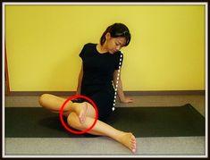改善ストレッチ|骨盤・大転子のゆがみ 骨盤の横の出っ張り|中目黒整体レメディオが教える 大転子 骨盤 膝下O脚のなおし方