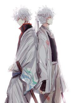 Anime/manga: Gintama Character(s): Gintoki Manga Anime, Fanarts Anime, Manga Boy, All Anime, Anime Guys, Persona Anime, Gintama Wallpaper, Okikagu, Another Anime