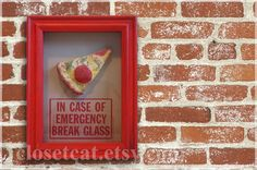 Slice of Pizza  In Case of Emergency  Pepperoni pizza by ClosetCat