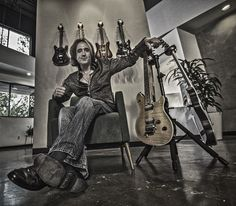 Marc Ferrari of (KEEL, Pantera, Medicine Wheel)... with The HYDRA!  Official D&A Guitar Gear artist.  Rockstars love HYDRA!!!  >>> http://www.heydna.com/pages/hydra  (click Marc's pic to see his D&A page)