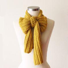 oh leander scarf in honey mustard