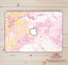 Pink Ocean Marble. MacBook Skin. Laptop Skin. by MacBookCasesandCo on Etsy