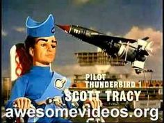 Thunderbirds TV Show Intro ~ Holy Cow remember this show ? If you do than you're an OLD FART just like me.