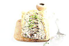 Cheesy Mushroom Tart 1