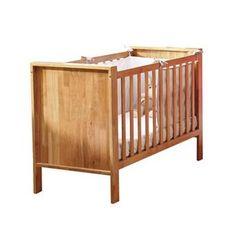 Lit bébé Réglisse en bois hévéa 60 x 10 cm