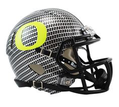 OREGON DUCKS CARBON FIBER HYDRO FX Revolution Speed Mini Football Helmet