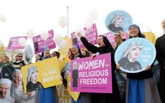 Pro-Lifers Rally for Little Sisters of the Poor as They Fight Obama's HHS Mandate at SCOTUS