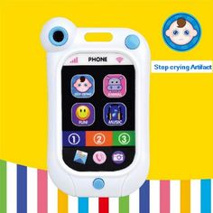 baby bed bell Infant stop crying machine infant toys mobile phone baby Mini Learning Machine toys artifact simulation smartphone Smartphone, Baby Toys, Children Toys, Silly Putty, Electronic Toys, Baby Education, Learning Toys, Cool Pets, New Toys