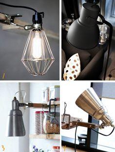 Deze lampen klem je gemakkelijk overal aan vast Roomed | roomed.nl