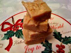 Sweet Tea and Cornbread: Easy Peanut Butter Fudge!