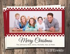 Christmas Photo card Digital File by LIFEvents by LIFEvents
