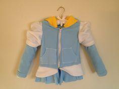 Disney Princess Inspired Cinderella Fleece Girls Hoodie Shirt (Child sizes) via Etsy