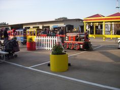 Trackless Train in Traders Village Grand Prairie