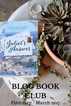 Juliet's Answer by Glenn Dixon BLOG CLUB BOOK