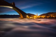 *Like a bridge over the clouds...* by Andrea Vallini on 500px