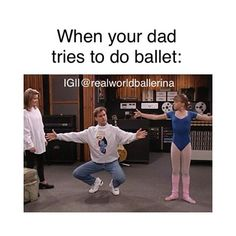 """When Non-dancers try """"doing ballet"""" Stephanie's arms aren't right either, but..."""