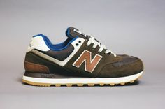 "New Balance 574 ""Canteen"" Pack"
