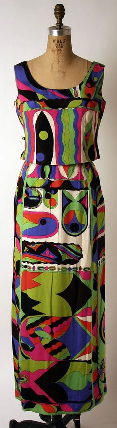 Vintage Fashion 1970 Emilio Pucci 57 New Ideas 60s And 70s Fashion, Retro Fashion, Vintage Fashion, Vintage 70s, Emilio Pucci, Trendy Dresses, Nice Dresses, Vintage Dresses, Vintage Outfits