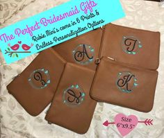 Rubie Mini's make such a beautiful and perfect bridesmaid gift . add one of our many monograms to make it personally personal just for them Thirty One Uses, Thirty One Gifts, Mini S, Bridesmaid Gifts, Real Weddings, Monograms, 31 Ideas, Organizing, Totes
