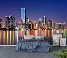Miami skyline Tapet