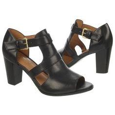 Naturalizer Diner Shoes (Black Leather/Black) - M Teacher Shoes, Vintage Inspired Shoes, Size 13 Shoes, Naturalizer Shoes, Dream Shoes, Beautiful Shoes, Shoe Collection, Summer Shoes, Black Sandals