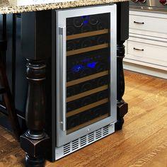 N'FINITY PRO HDX 29 Dual Zone Wine Cellar (Stainless Steel Door) - Wine Enthusiast