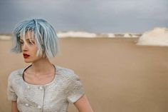 . Futuristic Desert Editorials - Eugenio Recuenco Captures Beauty on Desolate Sandy Plain (GALLERY)