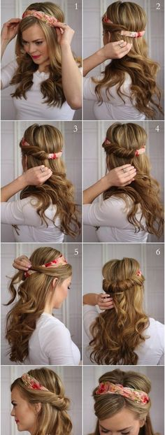 rapide-facile-retour-école-à-coiffure-long-cheveux