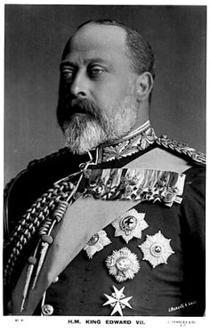 King Edward VII, son of Queen Victoria and Prince Albert.