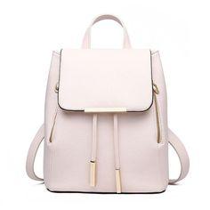 Leather Backpacks Women Fashion Backpack Fresh School Bags Teenagers Mochila Bagpack Woman Travel daypack Back Pack