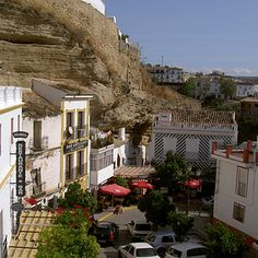 Setenil de las Bodegas, Spain - City covered in rocks | 17 Quirky Cities And Towns You Totally Need To Visit