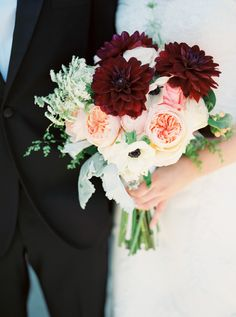 VERY pretty - love the colors, shape and composition. - Ali  Photography: Marcie Meredith Photography - marciemeredith.com  Read More: http://www.stylemepretty.com/2014/09/08/romantic-and-elegant-lubbock-texas-at-the-historic-watson-building/