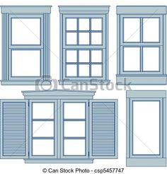 Window blueprints - csp5457747
