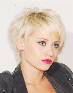 Frisuren frauen kurz blond