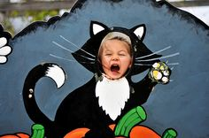Halloween carnival funny face cutouts - Google Search