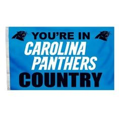 Carolina Panthers Country banner