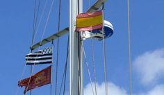 Le Bandiere a bordo