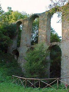 Canale Monterano (Roma) - Manturanum - acquedotto rinascimentale di Oriolo - Photo G. Garofoli (05-2006) - © All rights reserved - Tesori del Lazio