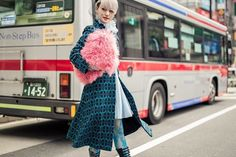 Getting absolutely blown away by the killer street style looks at Tokyo Fashion Week  Just look at that fuzzy bag!!! Click the link in our bio for more of our faves. photographer: @sperzphoto  via NYLON MAGAZINE OFFICIAL INSTAGRAM - Celebrity  Fashion  Haute Couture  Advertising  Culture  Beauty  Editorial Photography  Magazine Covers  Supermodels  Runway Models