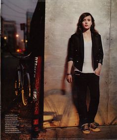 OMG Ellen Page come out already...pleeeease