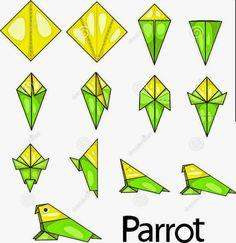 loro-de-la-papiroflexia-31697541.jpg (685×707)